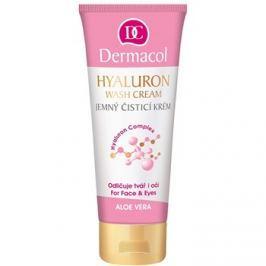 Dermacol Hyaluron jemný čisticí krém na obličej a oči  100 ml