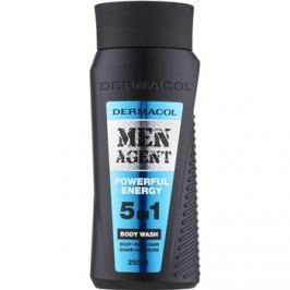 Dermacol Men Agent Powerful Energy sprchový gel 5 v 1  250 ml