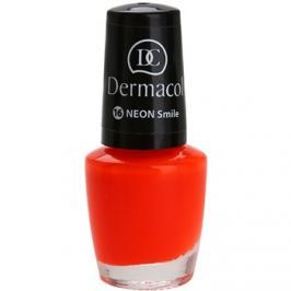 Dermacol Neon neonový lak na nehty odstín 16 Smile 5 ml