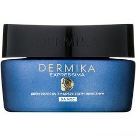 Dermika Expressima noční regenerační krém proti mimickým vráskám  50 ml