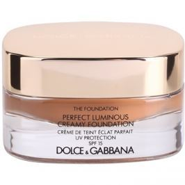 Dolce & Gabbana The Foundation Perfect Luminous Creamy Foundation rozjasňující krémový make-up SPF 15 odstín 170 Golden Honey 30 ml