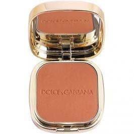 Dolce & Gabbana The Foundation Perfect Matte Powder Foundation matující pudrový make-up se zrcátkem a aplikátorem odstín No. 160 Sable  15 g