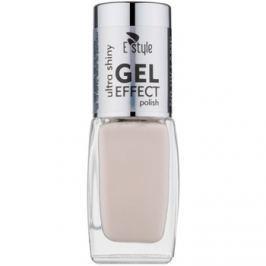 E style Gel Effect gelový lak na nehty bez užití UV/LED lampy odstín 20 Pearl 10 ml