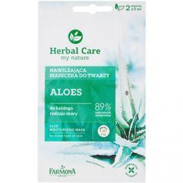 Farmona Herbal Care Aloe hydratační maska pro všechny typy pleti  2 x 5 ml
