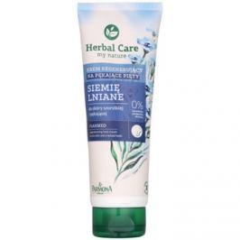 Farmona Herbal Care Flax Seed krém na rozpraskané paty (10% Urea) 100 ml