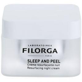 Filorga Medi-Cosmetique Sleep and Peel obnovující noční krém pro rozjasnění a vyhlazení pleti  50 ml