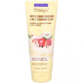 Freeman Feeling Beautiful kaolínová pleťová maska pro všechny typy pleti Apple Cider Vinegar  175 ml