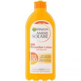 Garnier Ambre Solaire ochranné opalovací mléko SPF 20  400 ml
