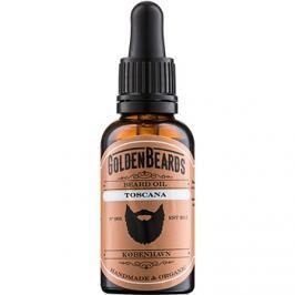 Golden Beards Toscana olej na vousy  30 ml