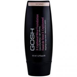 Gosh X-ceptional dlouhotrvající make-up odstín 14 Sand 35 ml