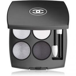 Chanel Les 4 Ombres intenzivní oční stíny odstín 246 Tissé Smoky 2 g