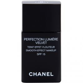 Chanel Perfection Lumiére Velvet sametový make-up pro matný vzhled odstín 60 Beige SPF 15  30 ml