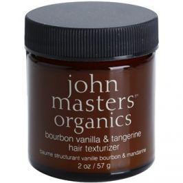 John Masters Organics Bourbon Vanilla & Tangerine stylingová pasta pro dokonalý vzhled vlasů  57 g