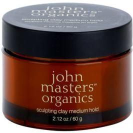 John Masters Organics Sculpting Clay Medium Hold modelovací hlína pro matný vzhled  60 g