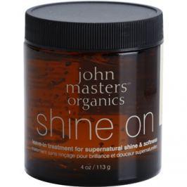 John Masters Organics Shine On stylingový gel pro hladké a lesklé vlasy  113 g