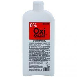 Kallos Oxi krémový peroxid 6% pro profesionální použití  1000 ml
