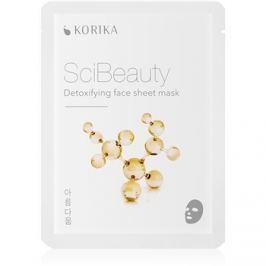 KORIKA SciBeauty detoxikační plátýnková maska  22 g