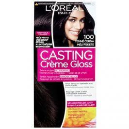L'Oréal Paris Casting Creme Gloss barva na vlasy odstín 100 Deep Black