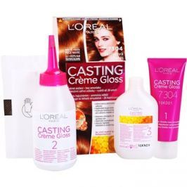 L'Oréal Paris Casting Creme Gloss barva na vlasy odstín 7304 Cinnamon