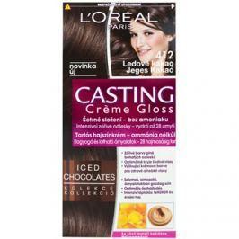 L'Oréal Paris Casting Creme Gloss barva na vlasy odstín 412 Iced Cocoa