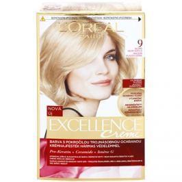 L'Oréal Paris Excellence Creme barva na vlasy odstín 9 Light Natural Blonde