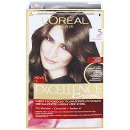 L'Oréal Paris Excellence Creme barva na vlasy odstín 5 Natural Brown