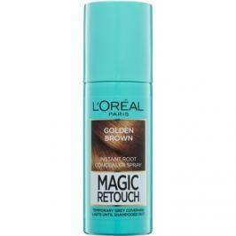L'Oréal Paris Magic Retouch sprej pro okamžité zakrytí odrostů odstín Golden Brown 75 ml
