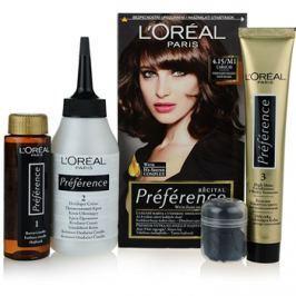 L'Oréal Paris Préférence barva na vlasy odstín 4.15/M1 Caracas
