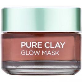 L'Oréal Paris Pure Clay exfoliační maska  50 ml
