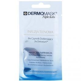 L'biotica DermoMask Night Active okysličující maska  12 ml
