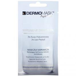 L'biotica DermoMask Night Active vyplňující maska proti hlubokým vráskám  12 ml