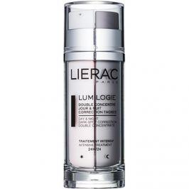 Lierac Lumilogie dvoufázový rozjasňující koncentrát na den i noc proti pigmentovým skvrnám  30 ml