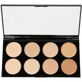 Makeup Revolution Cover & Conceal paleta korektorů odstín Light - Medium 10 g
