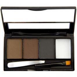 Makeup Revolution I ♥ Makeup Brows Kit set na obočí odstín Bold Is Best 3 g