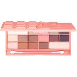 Makeup Revolution I ♥ Makeup Chocolate and Peaches paleta očních stínů  22 g