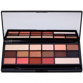 Makeup Revolution I ♥ Makeup Chocolate Vice paleta očních stínů se zrcátkem a aplikátorem  22 g