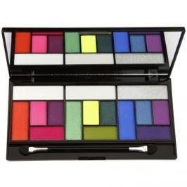 Makeup Revolution Pro Looks Eat Sleep Makeup Repeat paleta očních stínů  13 g