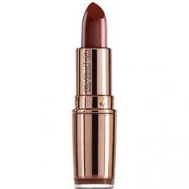 Makeup Revolution Rose Gold hydratační rtěnka odstín Chauffeur 4 g