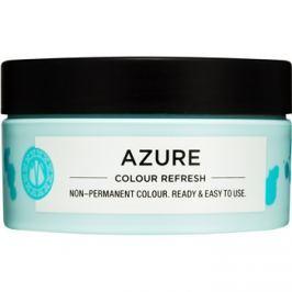 Maria Nila Colour Refresh Azure jemná vyživující maska bez permanentních barevných pigmentů výdrž 4-10 umytí 0.11 100 ml