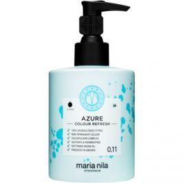 Maria Nila Colour Refresh Azure jemná vyživující maska bez permanentních barevných pigmentů výdrž 4-10 umytí 0.11 300 ml