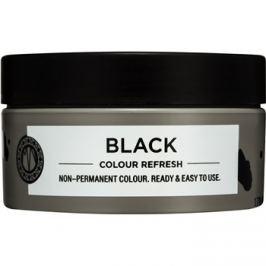 Maria Nila Colour Refresh Black jemná vyživující maska bez permanentních barevných pigmentů výdrž 4-10 umytí 2.00 100 ml