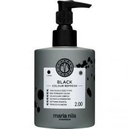 Maria Nila Colour Refresh Black jemná vyživující maska bez permanentních barevných pigmentů výdrž 4-10 umytí 2.00 300 ml
