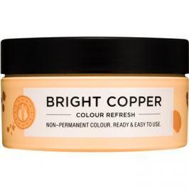 Maria Nila Colour Refresh Bright Copper jemná vyživující maska bez permanentních barevných pigmentů výdrž 4-10 umytí 7.40 100 ml