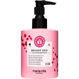 Maria Nila Colour Refresh Bright Red jemná vyživující maska bez permanentních barevných pigmentů výdrž 4-10 umytí 0.66 300 ml