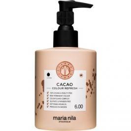 Maria Nila Colour Refresh Cacao jemná vyživující maska bez permanentních barevných pigmentů výdrž 4-10 umytí 6.00 300 ml
