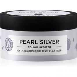 Maria Nila Colour Refresh Pearl Silver jemná vyživující maska bez permanentních barevných pigmentů výdrž 4-10 umytí 0.20 100 ml