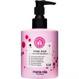 Maria Nila Colour Refresh Pink Pop jemná vyživující maska bez permanentních barevných pigmentů výdrž 4-10 umytí 0.06 300 ml