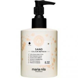 Maria Nila Colour Refresh Sand jemná vyživující maska bez permanentních barevných pigmentů výdrž 4-10 umytí 8.32 300 ml