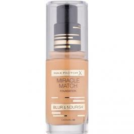 Max Factor Miracle Match tekutý make-up s hydratačním účinkem odstín 85 Caramel 30 ml
