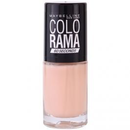Maybelline Colorama 60 Seconds rychleschnoucí lak na nehty odstín 303 7 ml